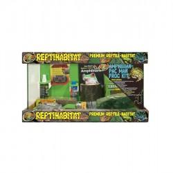Zoomed Reptihabitat Amphibian/PacMan Kit - kezdőszett békáknak, és más kétéltűeknek