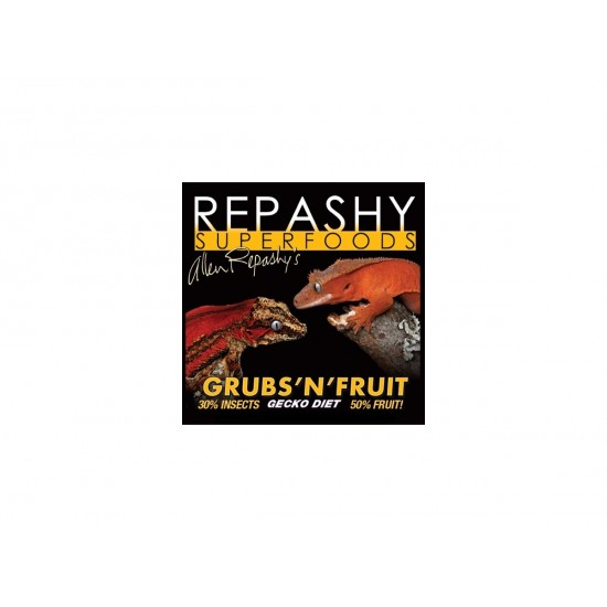 Repashy Grubs 'N' Fruit 340 gramm gekkótáp