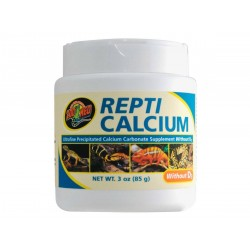 Zoomed Repti Calcium without D3 85 gramm