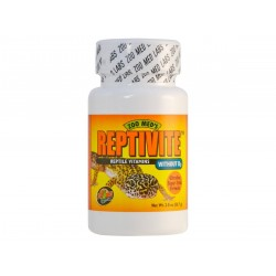 Zoomed Reptivite without D3 57 gramm vitamin