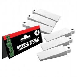 Habistat Rubber Wedges gumi terráriumzár 6 db