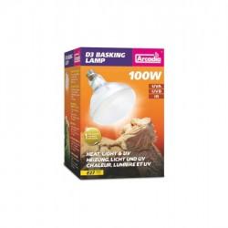 Arcadia D3 UV Basking Lamp 100 W napozó és UVB izzó