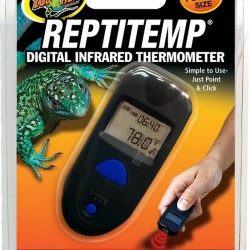 Zoomed ReptiTemp Digital Infrared Thermometer hőmérő