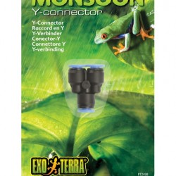 ExoTerra Monsoon Y-Connector elosztó