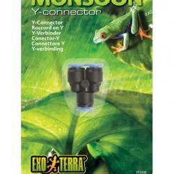 ExoTerra Monsoon Y-Connector elosztó