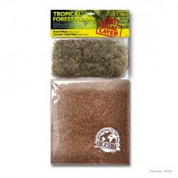 ExoTerra Tropical Forest Floor 2,2+6,6 liter terrárium talaj
