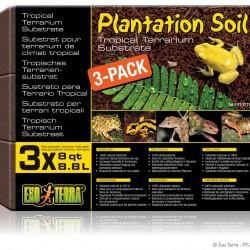 ExoTerra Plantation Soil - kókuszrost kocka 3db