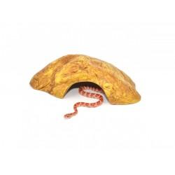 HabiStat Repti-Rock Sand Stone Reptile Cave Medium természethű búvóhely