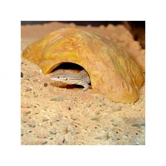 HabiStat Repti-Rock Sand Stone Reptile Cave Small természethű búvóhely