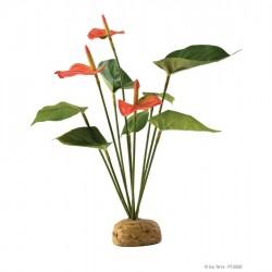 ExoTerra Anthurium Bush műnövény