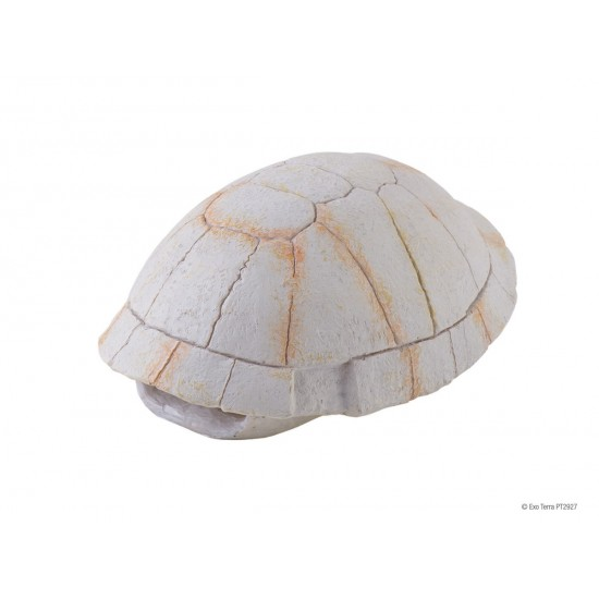 ExoTerra Tortoise Skeleton teknőspáncél búvóhely - 13x7x5 cm
