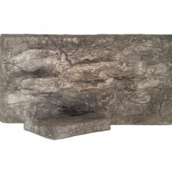 Műszikla terráriumháttér - 60x30 cm fekvő