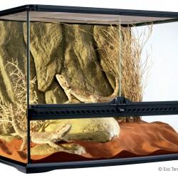 ExoTerra terrárium - Medium/Wide 60x45x45 cm
