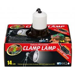 Zoomed Porcelain Clamp Lamp 14 cm lámpabura