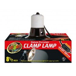 ZooMed Porcelain Clamp Lamp 22 cm lámpabura