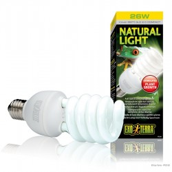 ExoTerra Natural Light 25W kompakt