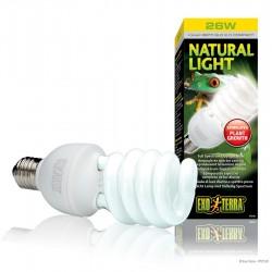 ExoTerra Natural Light 25W kompakt